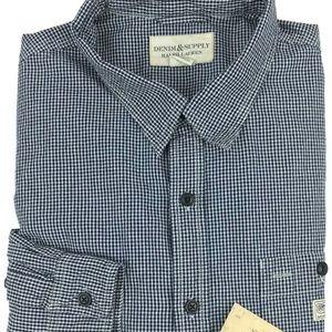 Denim & Supply Gingham Plaid Shirt Size XXL Sz 2XL